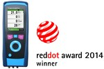 Analizorul de gaze de ardere Multilyzer STe invingator la Red Dot Award 2014 - Product Design 2014
