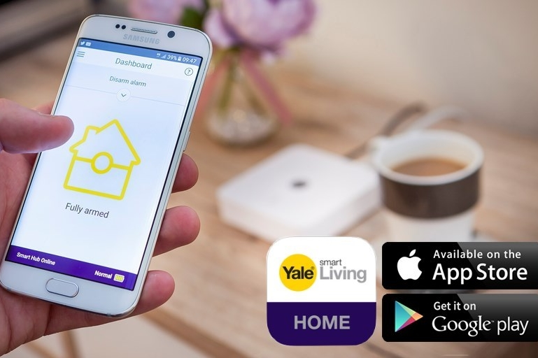Aplicatia Yale Smart Living Home